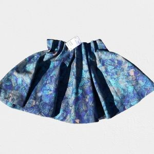 Floral Mini Skirt   GD2